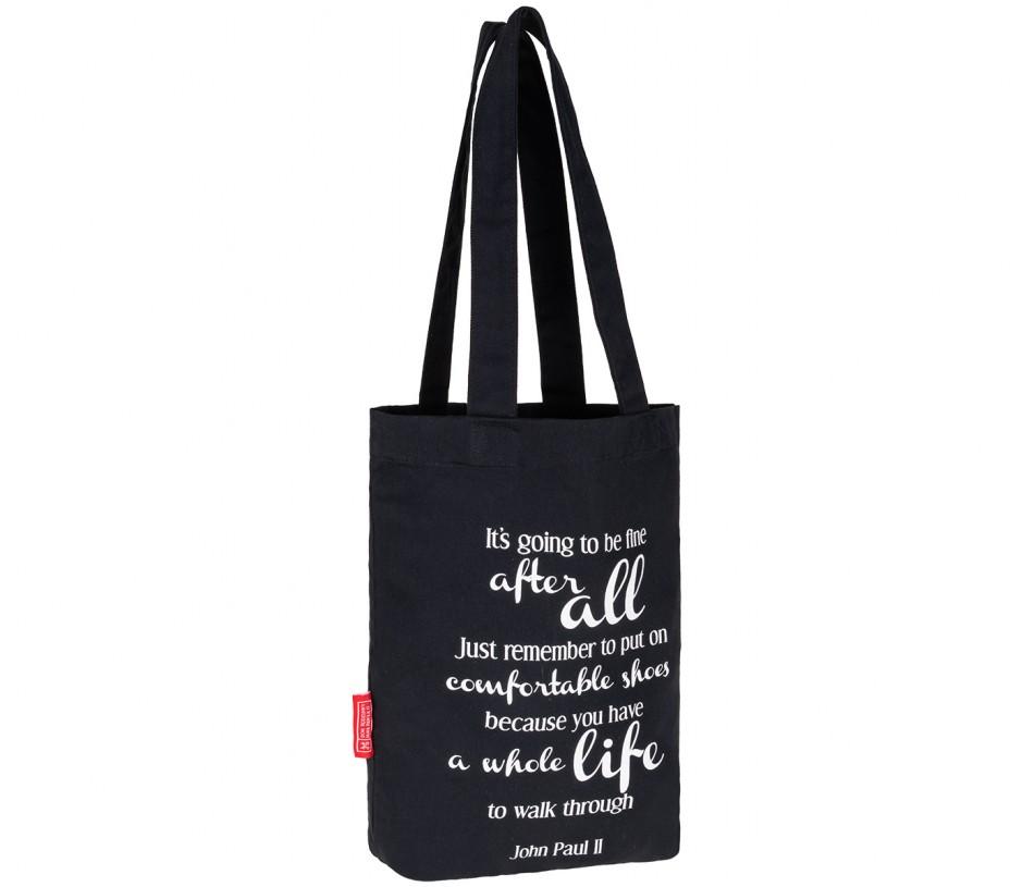 czarna torba bawełniana producent