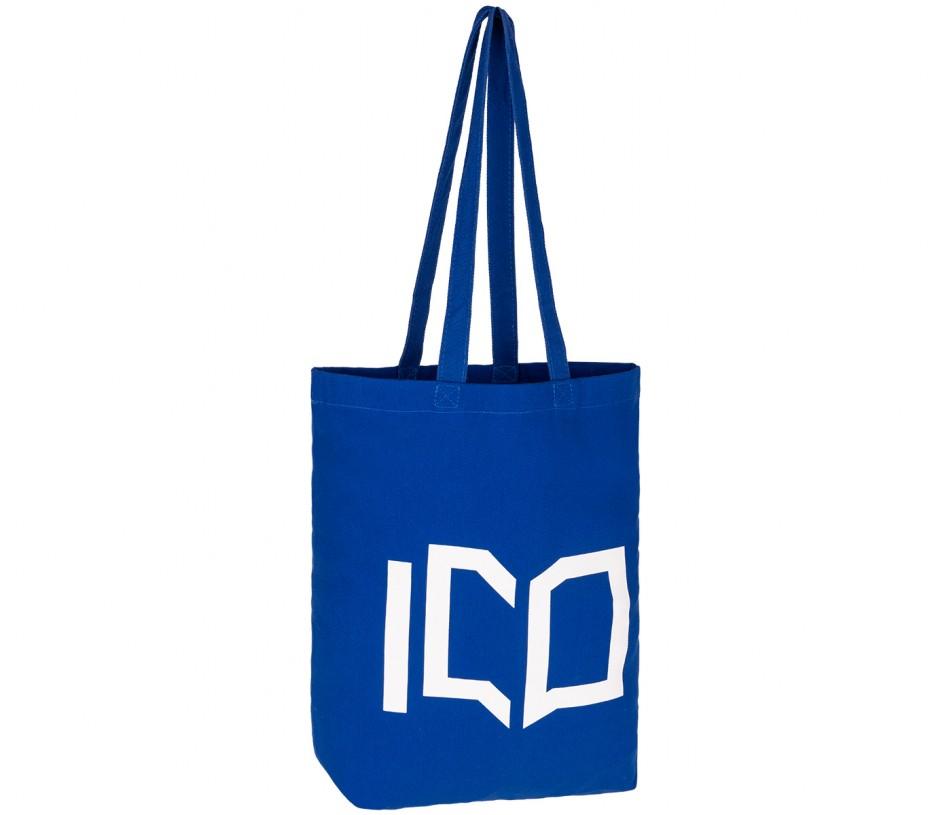 niebieska torba bawełniana producent